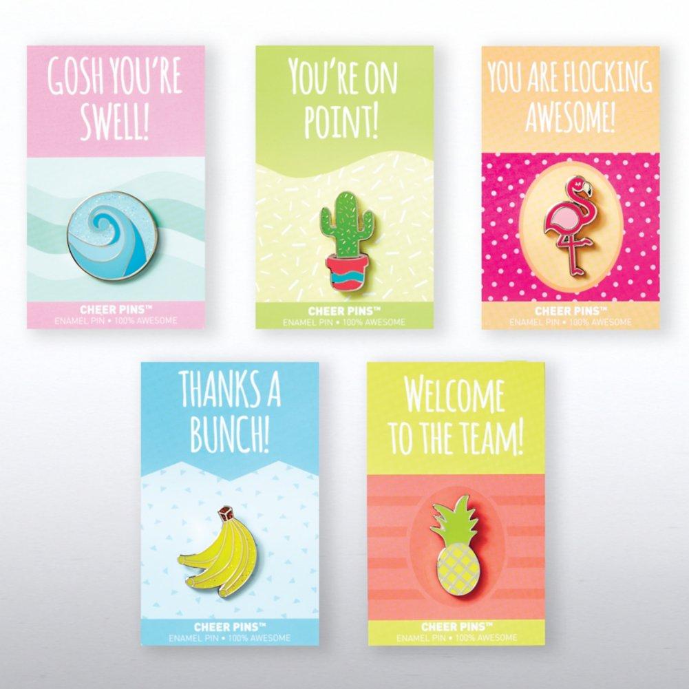 View larger image of Cheer Pin Bundle - Good Vibes