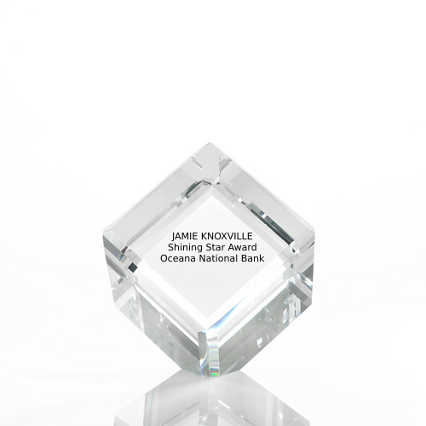 Limitless Collection: Crystal Logo Collection - Cube