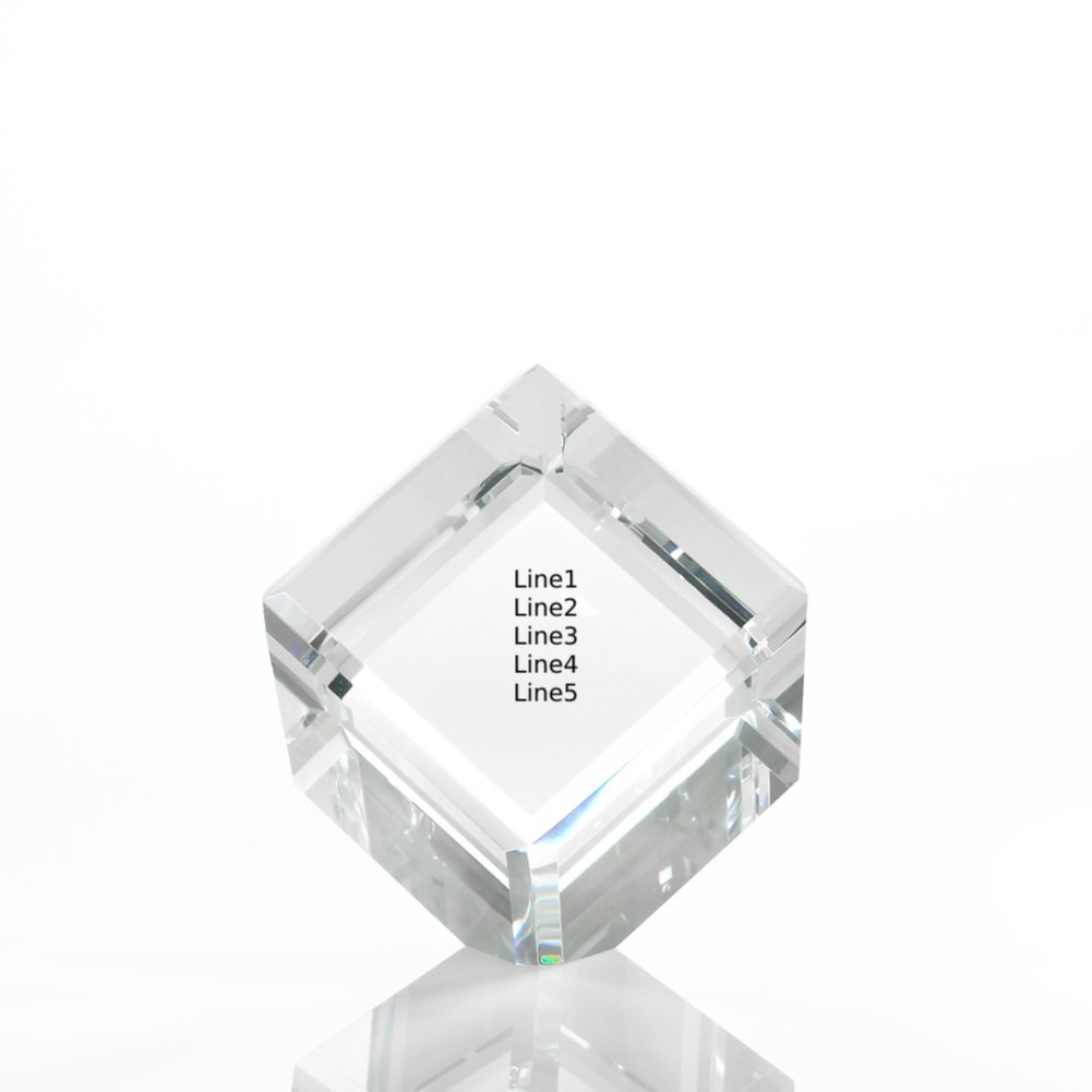 View larger image of Limitless Collection: Crystal Logo Collection - Cube