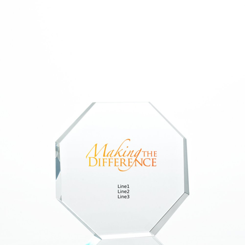 View larger image of Limitless Collection: Value Crystal Award Collection-Octagon