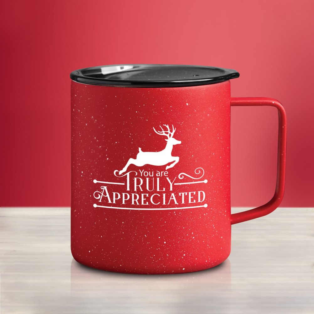 View larger image of Stainless Steel Travel Campfire Mug - Truly Appreciated