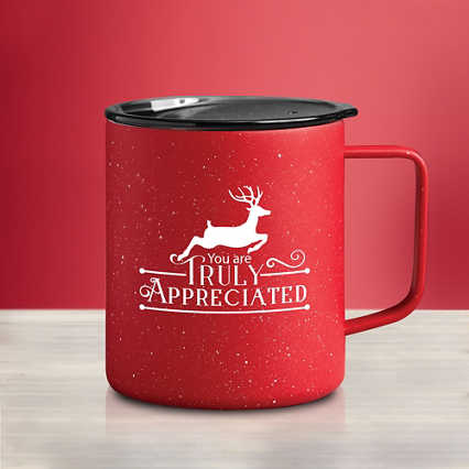 Stainless Steel Travel Campfire Mug - Truly Appreciated