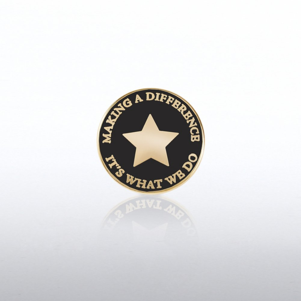 View larger image of Lapel Pin - Making a Difference: It's What We Do