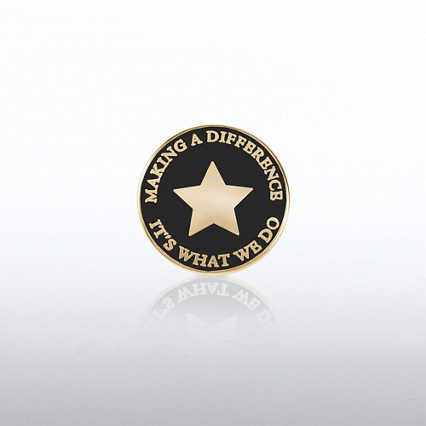 Lapel Pin - Making a Difference: It's What We Do