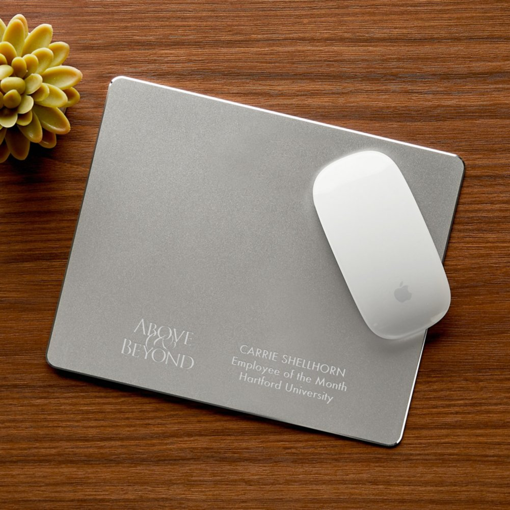 View larger image of Engravable Executive Mousepad