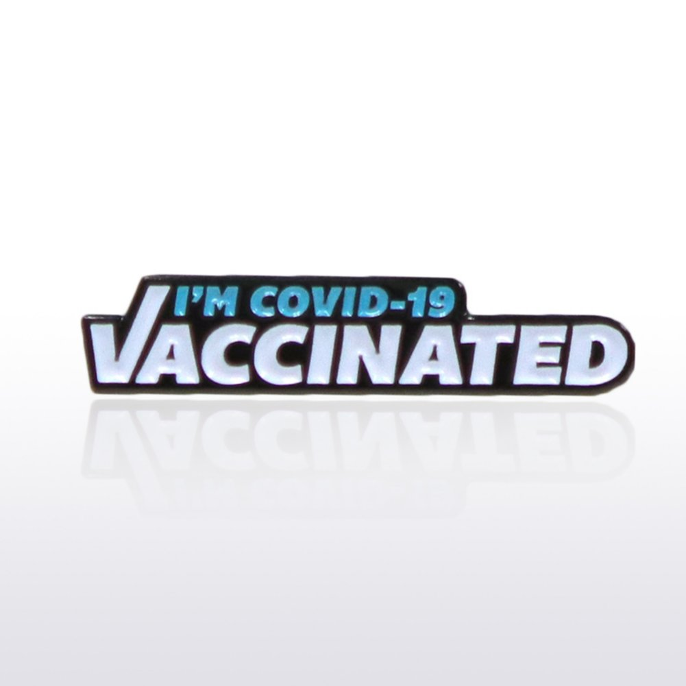 View larger image of Lapel Pin - I'm COVID-19 Vaccinated