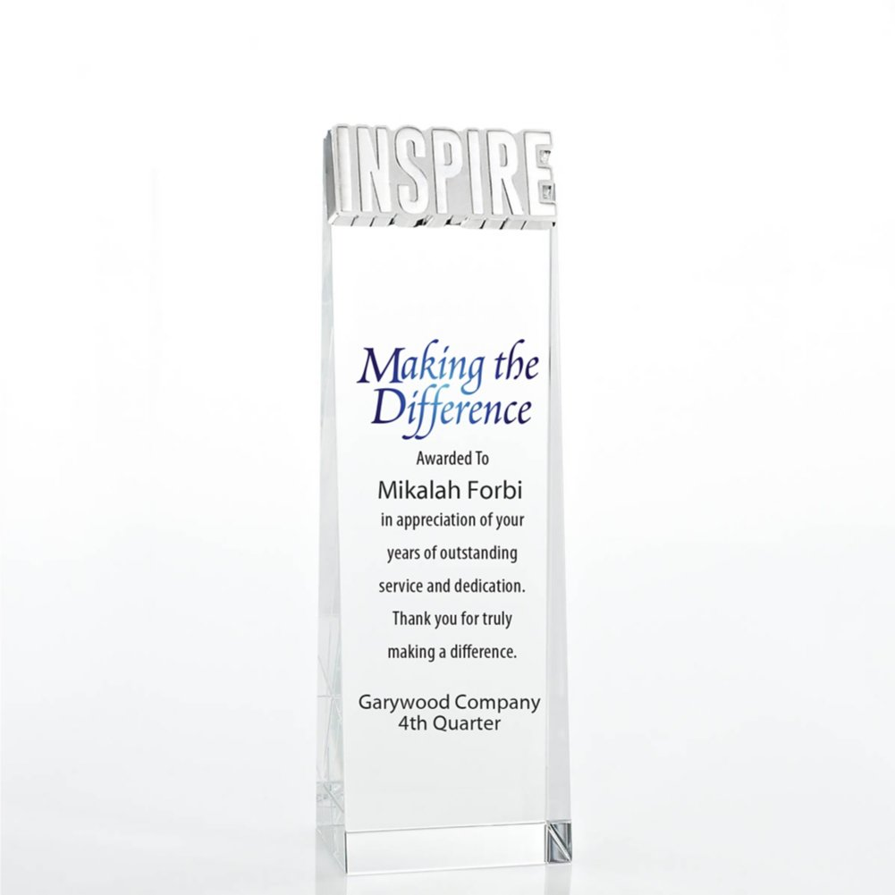 View larger image of Limitless Collection: Crystalline Tower Trophy - Inspire