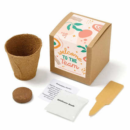 Growable Praise Plant Kit - Welcome to the Team