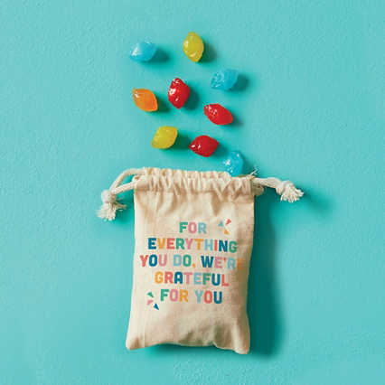 Merry & Bright Treat Bags - Grateful for You