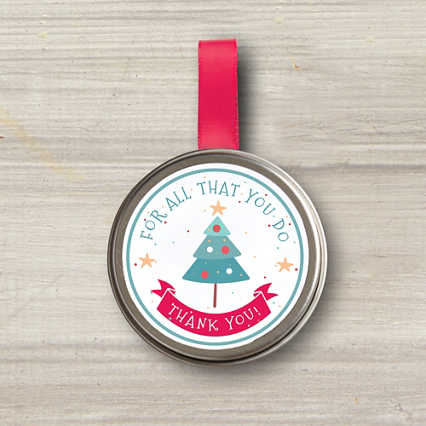 Sprinkle Seed Grow Tin Ornament - All That You Do