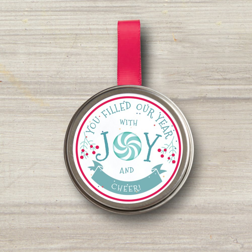 View larger image of Sprinkle Seed Grow Tin Ornament - Joy and Cheer