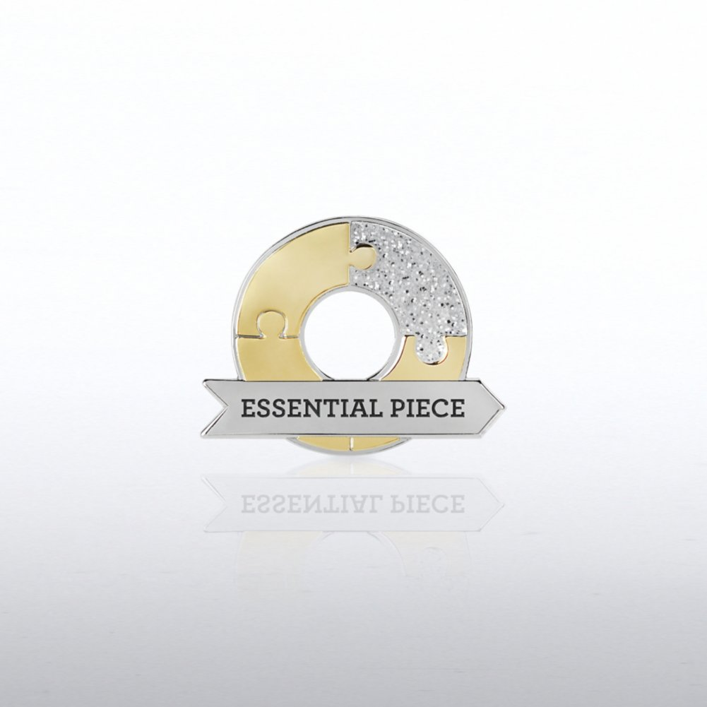 View larger image of Lapel Pin - Essential Piece Circle