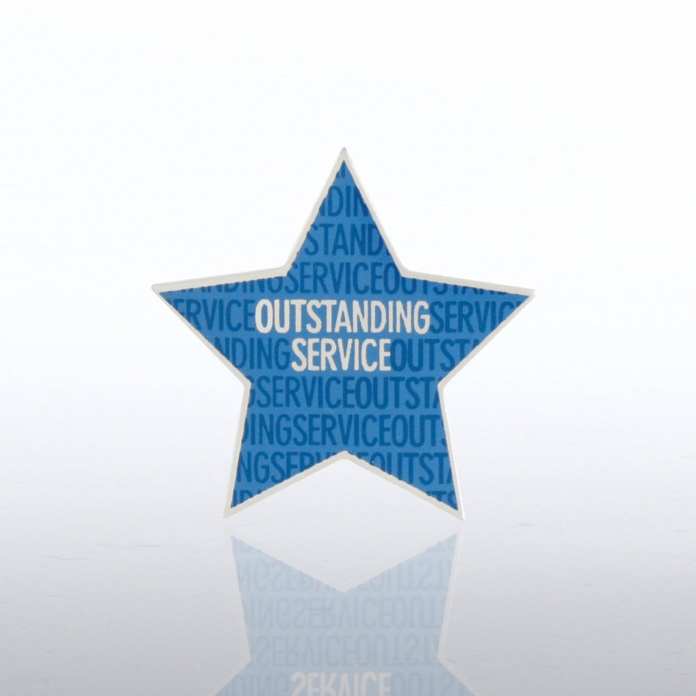 View larger image of Lapel Pin - Outstanding Service Star