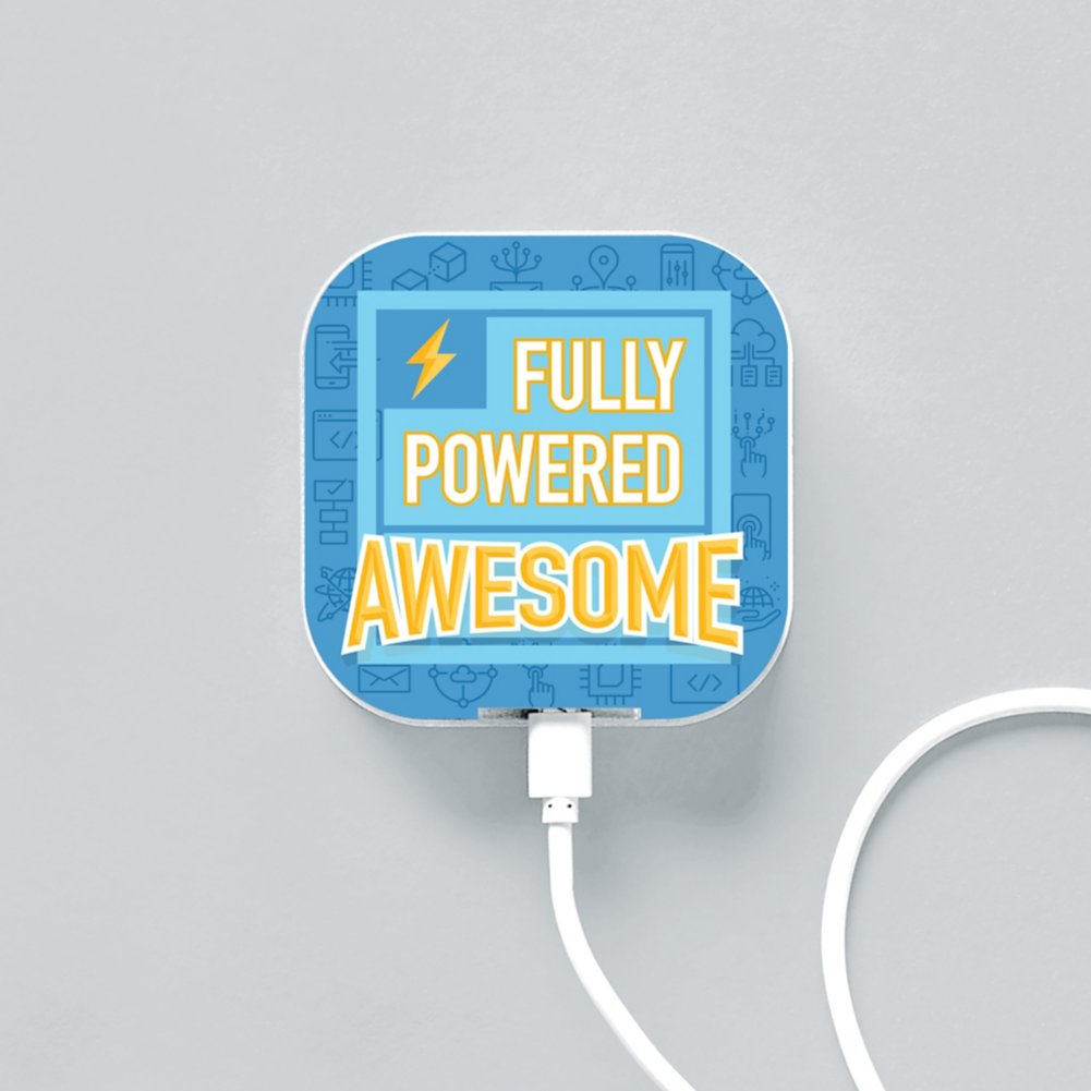 View larger image of Boost-Up Qi Charger - Fully Powered Awesome