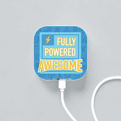 Boost-Up Qi Charger - Fully Powered Awesome