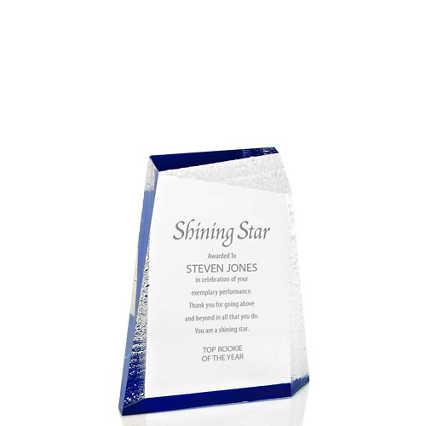 Acrylic Glacier Trophy - Small