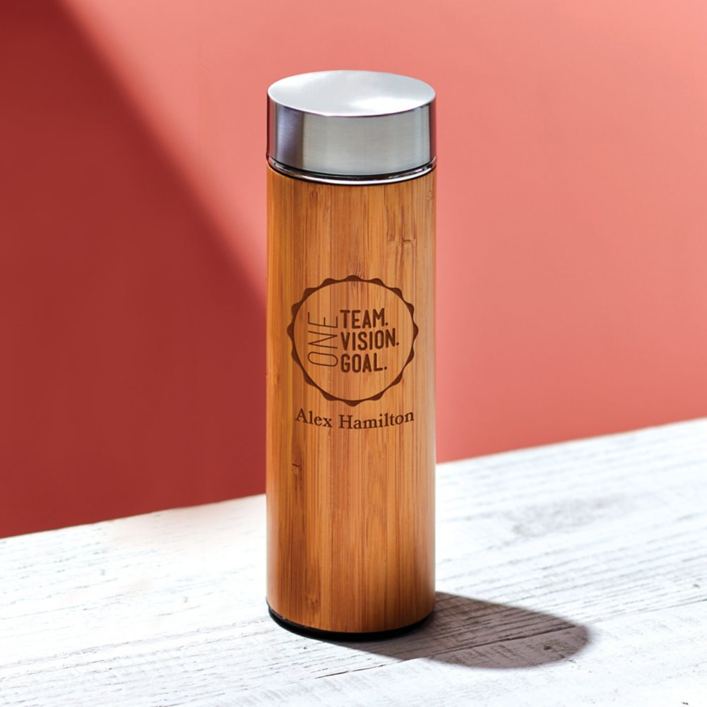 View larger image of Eco-Wise Bamboo Water Bottle