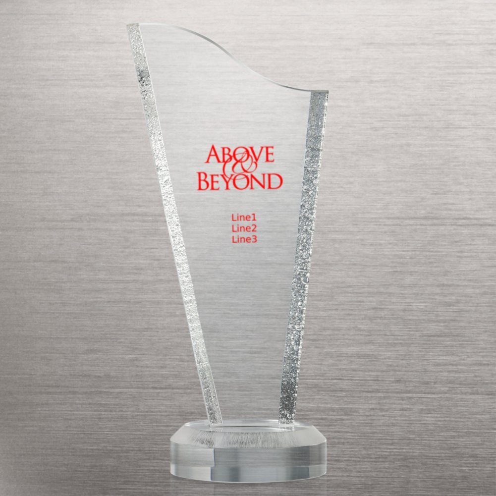 View larger image of Acrylic Glacier Trophy - Tower
