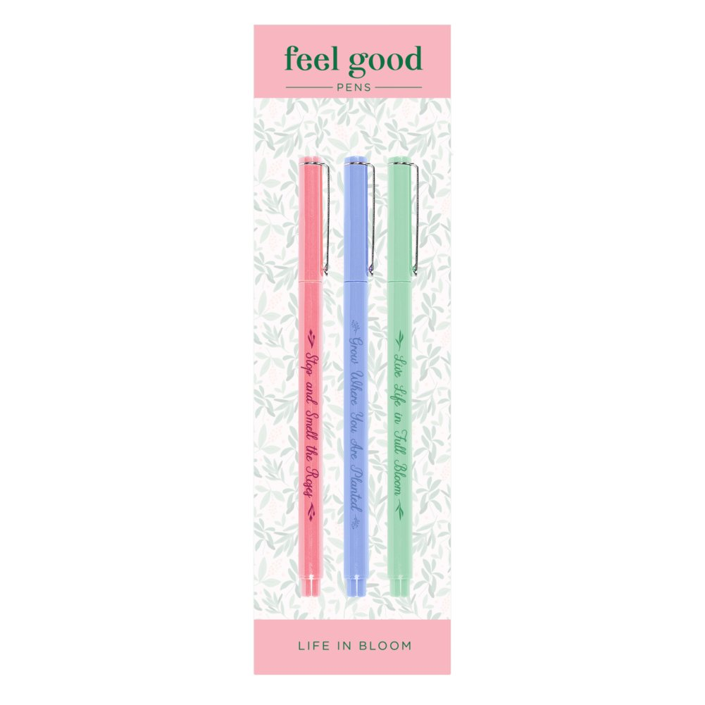 View larger image of Feel Good Pens - Le Pen Gift Pack - Plant Theme
