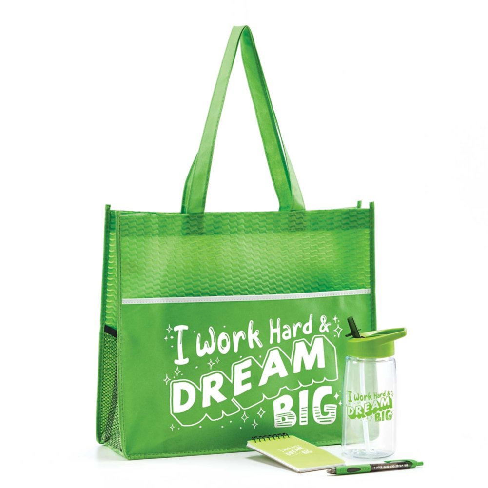 View larger image of Value Office Essentials Gift Set - I Work Hard & Dream Big