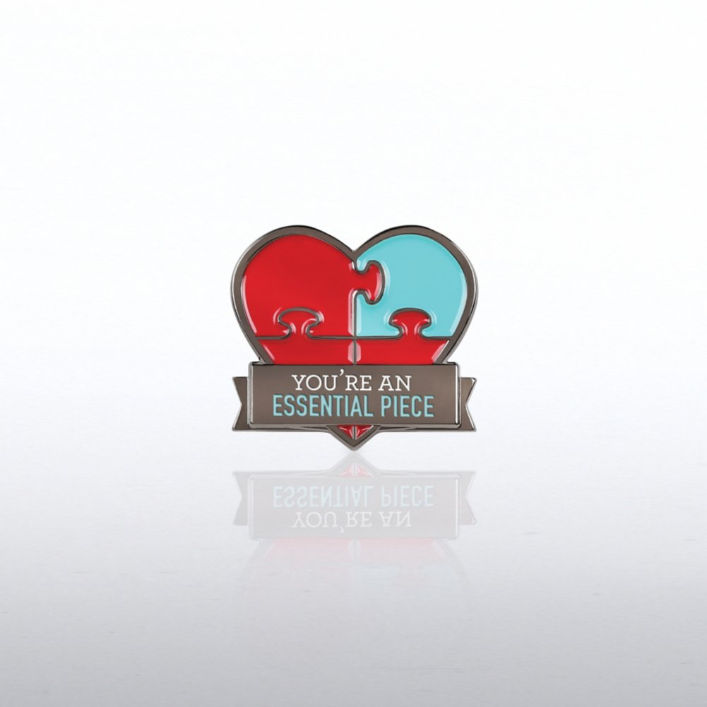 View larger image of Lapel Pin -  Essential Piece Heart