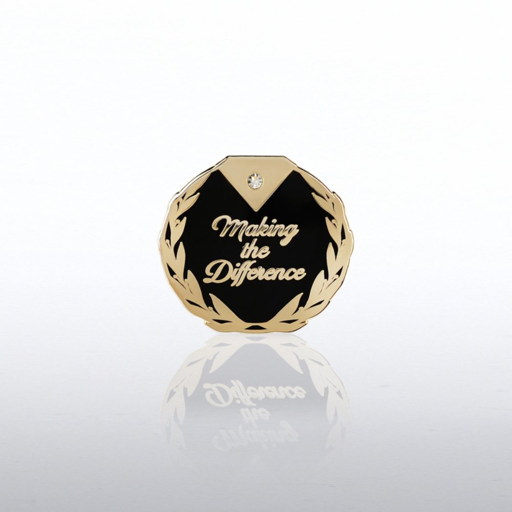 View larger image of Lapel Pin - Diamond: Making the Difference