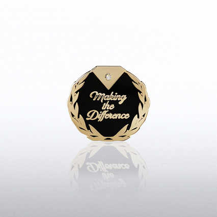 Lapel Pin - Diamond: Making the Difference