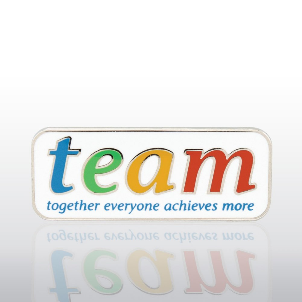 View larger image of Lapel Pin - TEAM - Together, Everyone, Achieves, More