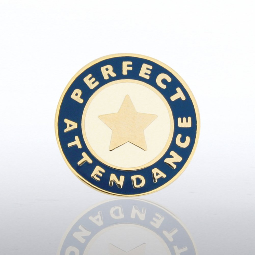 View larger image of Lapel Pin - Perfect Attendance Star