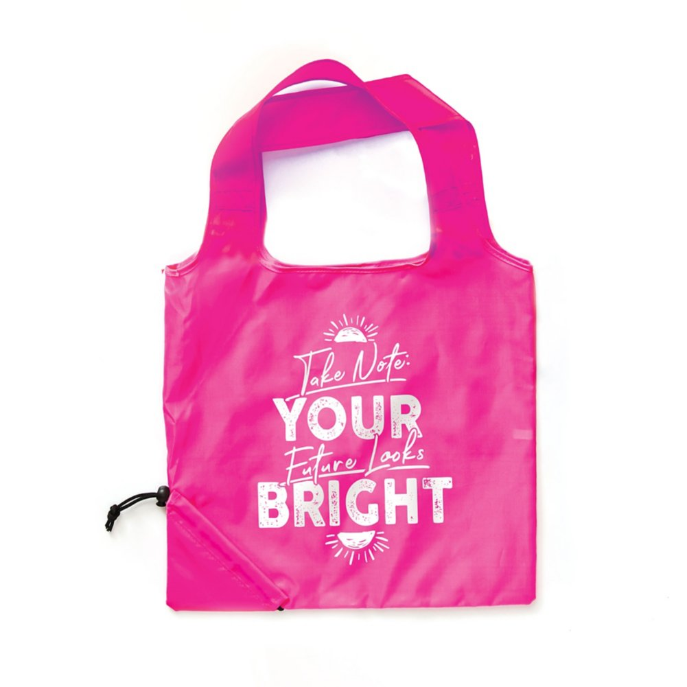 View larger image of Bright Side Neon Fold Tote - Future Looks Bright