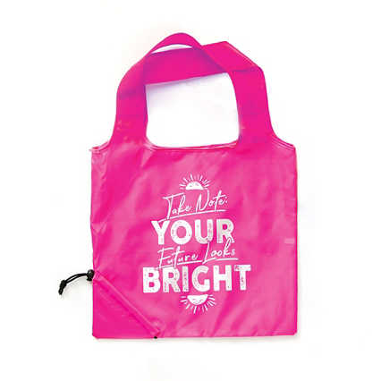 Bright Side Neon Fold Tote - Future Looks Bright