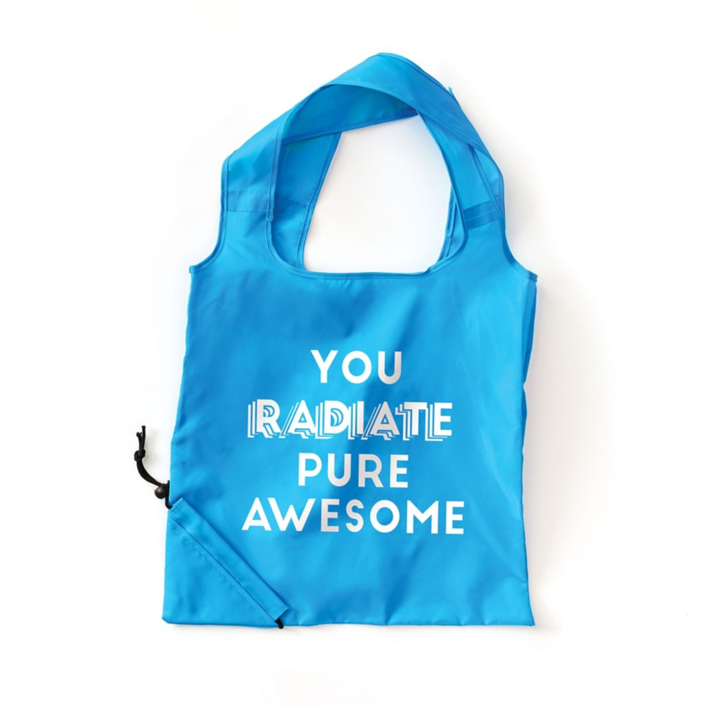 View larger image of Bright Side Neon Fold Tote - Pure Awesome