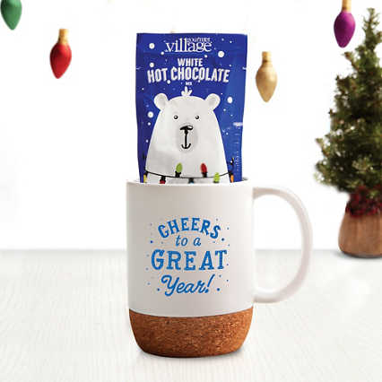 Hug-in-a-Mug Gift Set - Cheers to a Great Year