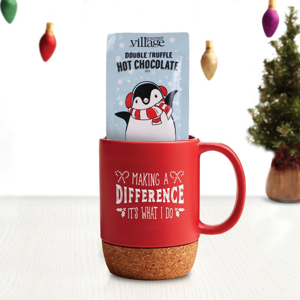 View larger image of Hug-in-a-Mug Gift Set - Making a Difference