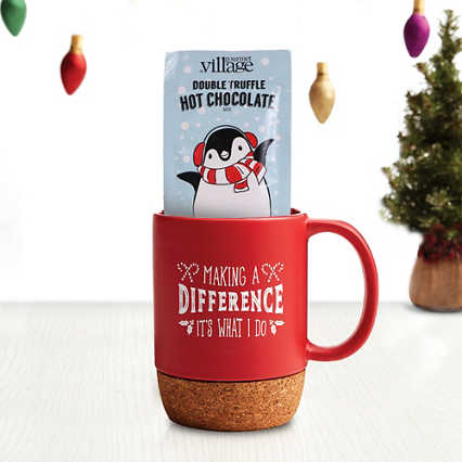 Hug-in-a-Mug Gift Set - Making a Difference