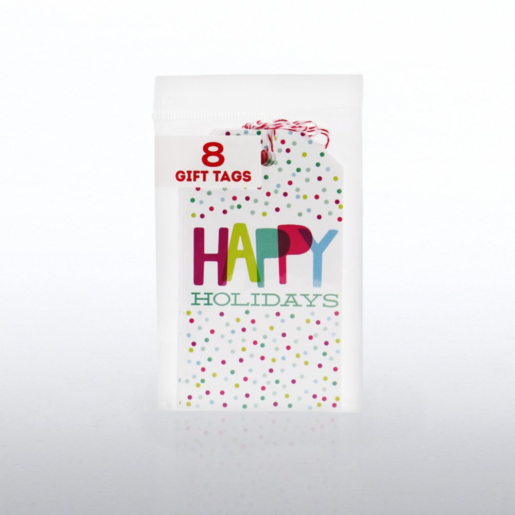 View larger image of Happy Holidays Gift Tags