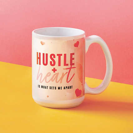 Perk Me Up Ceramic Mug - Hustle + Heart