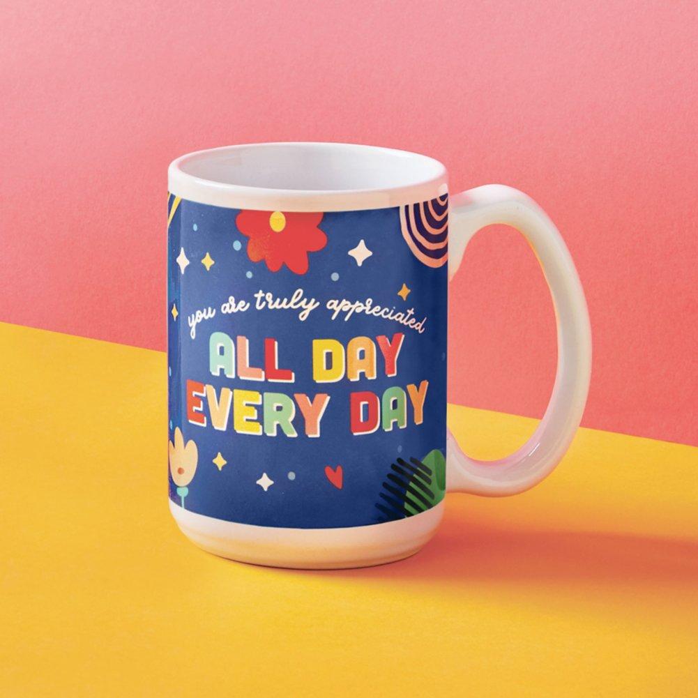 View larger image of Perk Me Up Ceramic Mug - Truly Appreciated
