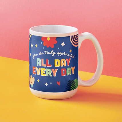 Perk Me Up Ceramic Mug - Truly Appreciated
