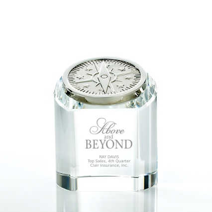 Crystal Rondure Award - Compass