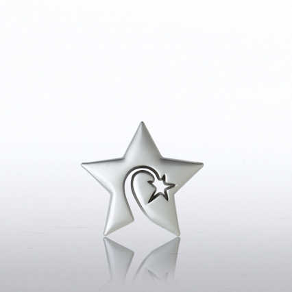Lapel Pin - Swirly Star