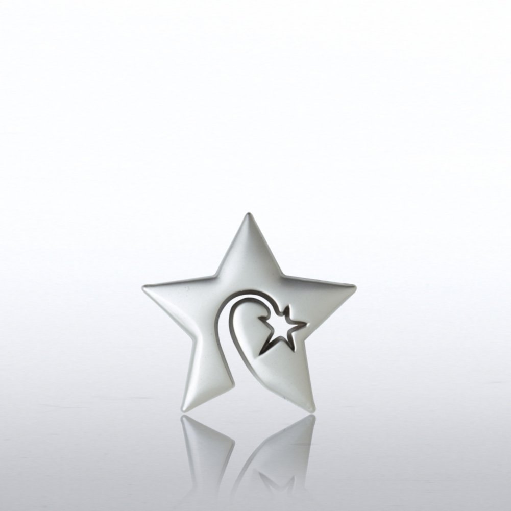 View larger image of Lapel Pin - Swirly Star