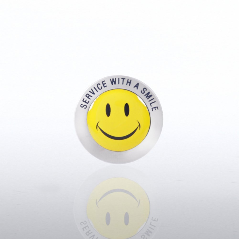 View larger image of Lapel Pin - Service Smile