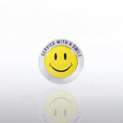 Lapel Pin - Service Smile