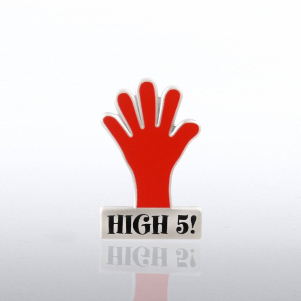 View larger image of Lapel Pin - High 5 Hand