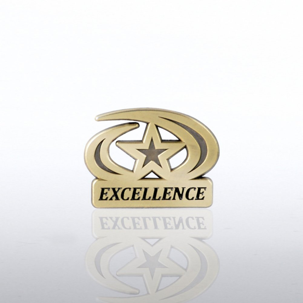 View larger image of Lapel Pin - Excellence Star