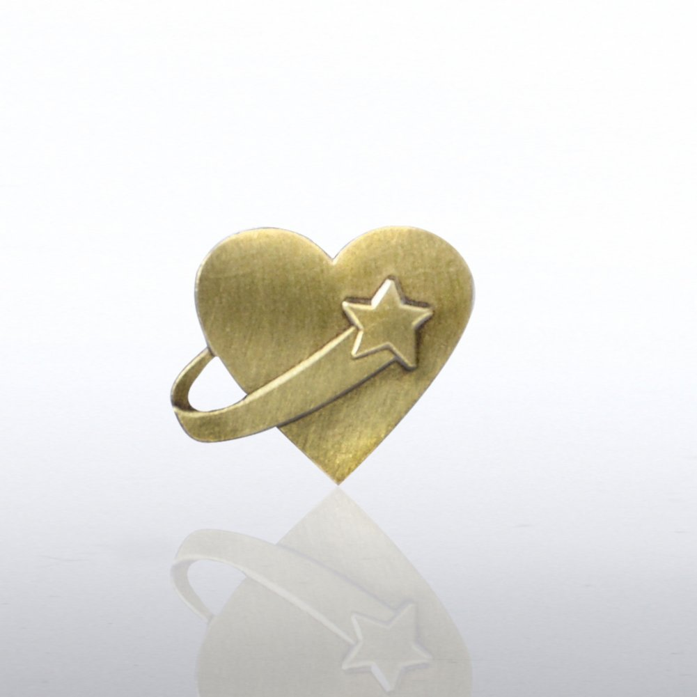View larger image of Lapel Pin - Above & Beyond Heart
