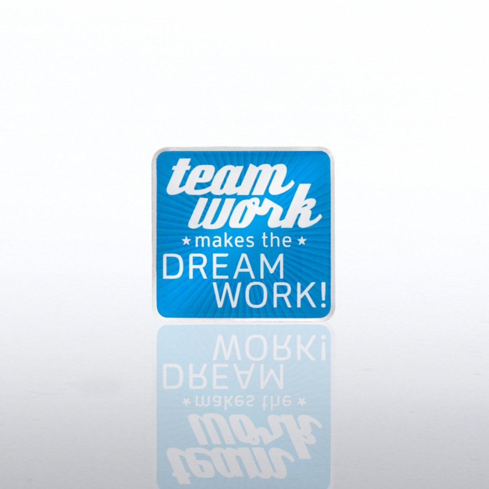 View larger image of Lapel Pin - Team Work Makes the Dreamwork