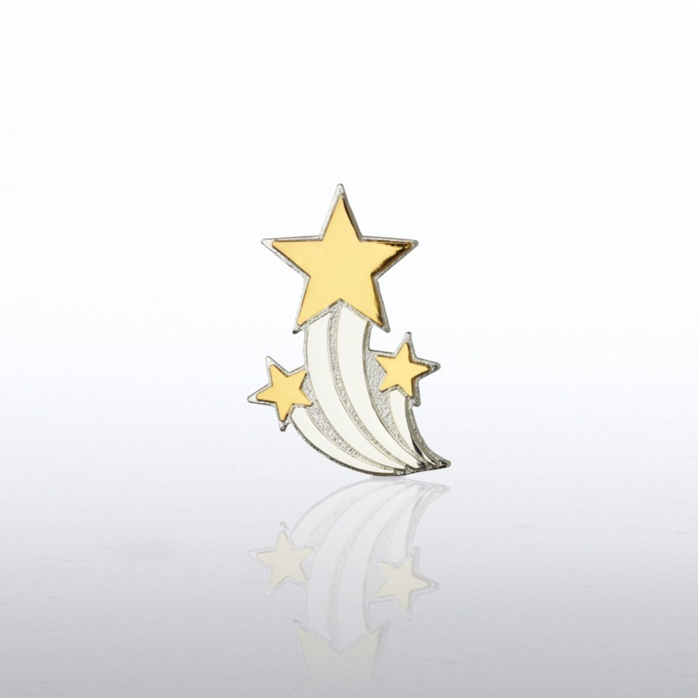 View larger image of Lapel Pin - Shooting Star Trio