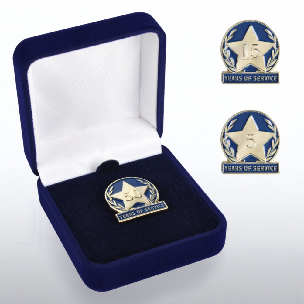 View larger image of Anniversary Lapel Pin - Anniversary Laurels